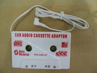 Wholesale car dvd Car Audio Cassette Adapter Apply To MP3 MD CD VCD DVD PDA GAME BOY IPOD