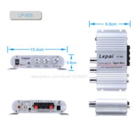 Wholesale Lepy LP Digital Audio Power Amplifier Car Boat Home Hi Fi Stereo mp3 AMP mp3 support mp3 mb