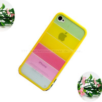 Cheap Classic Design Shell Cover Cases For Apple iPhone 4 4s 4g Case Cell Phone Shell Cases Low Price--PWHE005E