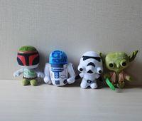 Jouets Star Wars 4 Styles Action Figures 7 pouces jouets Maître Yoda Stromtrooper Poupées Enfants peluche New Arrival