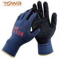 Wholesale Nitrile Oil Resistant Safety Work Gloves Protective Slip resistant Glove Wear resistant Machinery Glove Safety Glove Work Glove