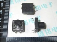 Cheap 100PCS DIP 12X12X10 Tactile Tact Push Button Micro Switch Momentary 12*12*10MM good quality