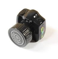 Wholesale The World Smallest DV Mini HD Y2000 Video Camera Small Mini Pocket DV DVR Camcorder Recorder Spy Hidden Web Cam