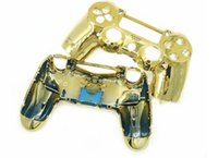 Wholesale cheap plating Metal Hard Controller Case Shell Cover Replacement For Sony for PlayStation PS4