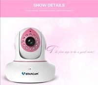 Wholesale new Arrival Vstarcam C7838WIP pink Wireless IP Camera P HD IR Network Webcam WIFI CCTV Baby monitor DHL