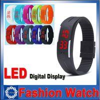 Wholesale LED Touch Screen Bracelet Bracelet Waterproof And Waterproof Couple Table Silicone Mini Bracelet Electronic Smart Watch