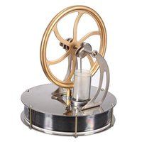 air cooled engine - Glass Air Cylinder Temperature Stirling Engine Motor Model Cool No Steam Education Toys Child Gift