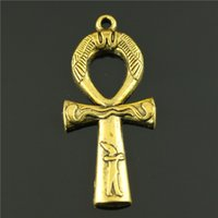 ancient egyptians jewelry - mm DIY Jewelry Accessories ancient Egyptian gold cross pendant