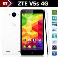 "Cheap Original 5"" ZTE V5S MSM8916 Quad Core 1.2GHz Cell Phones Android 4.4.4 Dual SIM 8.0MP Camera Screen 4G LTE"