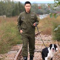 acu collar - Outdoor Leisure Camouflage Garment ACU CP Training Autumn Military Enthusiasts Suit Original Multiple Pockets Wearproof