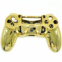 placage remplacement du disque contrôleur Métal Housse Shell pour Sony pour PlayStation 4 PS4