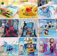 toddler bed - Cartoon Animal Baby Kid Toddler Children Infant Newborn Boy Girl Fleece Mink Throw Blanket Bed Set Cover Quilt Comforter Sheet Bedspread Set