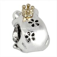 Cheap Costume Fashion Unique Style Enamel 925 Silver European Bead Charm High quality Antique DIY Jewelry For Snake Bracelet Chain