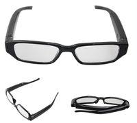 Wholesale 720 fps glasses Camera Eyewear camera Ultra thin flat glasses Hidden Spy camera Dvr Video Audio Recorder Mini DV