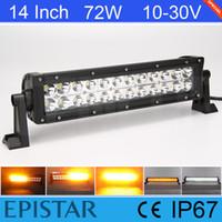 atv warning lights - Light Sourcing Inch W Epistar White Amber LED Warning Light For Offroad Boat SUV ATV Truck