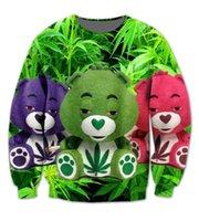 bearing standard sizes - Real USA size Care Bears Fashion Print D Sublimation fleece Sweatshirt Crewneck Plus Size XL XL XL