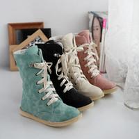 Cheap women boots Best blue color shoes
