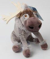 achat en gros de noël farcies reindeers animales-Les plus récents 70 cm Frozen Movie Personnage Sven Reindeer Animaux peluche en peluche Figurines Figurines enfants jouet bébé cadeau de Noël