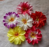 artificial water lilies - 200pcs Artificial lotus Water Lily flower head for DIY hair accessory cap clothes dress up decorative wedding
