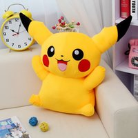 Wholesale Hot sale anime christmas toys Pikachu kids adult toy plush yellow lovely Pikachu cm quot birthday gifts