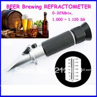 beer brewers - Beer Brewing Refractometer SG Brix popular for home brewer