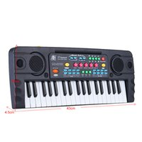 beginner music - 37 Keys Multifunctional Mini Electronic Keyboard with Microphone Educational Electone Music Toy for Children Kids Beginners