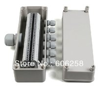 Wholesale 80 mm Plastic Waterproof Junction Box power cable Terminal Box IP65