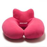 Wholesale Comfortable u shaped pillow neck pillow suitable for travel taking a nap