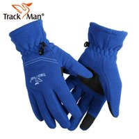 Wholesale Trackman Outdoor Cycling Anti Skid Climbing Warm Gloves For Men And Women Can Use For Phone