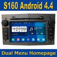 Winca S160 Android 4.4 sistema del coche DVD GPS de navegación por satélite de unidad principal de Opel Astra Vectra Zafira combinado con Wifi / 3G anfitrión de radio estéreo