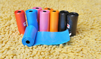 Wholesale 70ROLLS ROLLS Pet Products Dog Supplies Poop Bag Waste Poop Bags Colofull