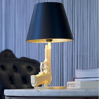 Wholesale Modern Flos Guns Table lamp Creative Starck Design Philippe Bedroom Desk light AC V V
