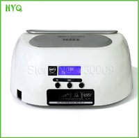 beauty shop equipment - High Quality W LED nail art lamp for salon shop gel uv nail polish curing dryer Nail Beauty Equipment