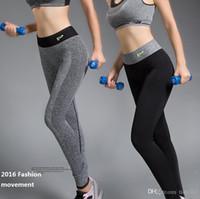 Cheap 2016 sport leggings high stretch tight leggings high waist Exercise and Fitness running leggings women fitness leggings 0556
