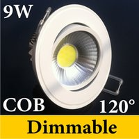 Wholesale Factory Newest Design Cob Led Dimmable Downlights W Led Light Warm Nautral Cool white V UL SAA CE ROHS Approve