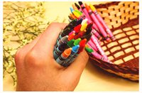 Wholesale 2015 New Cute Cartoon Series Mini Colored Pencil Set Color For School Kids CP