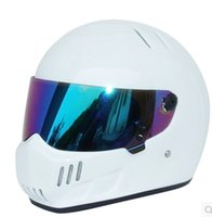 auto racing helmets - new Motorcycle helmet Full face FRP auto racing helmet ATV