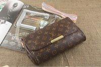 Wholesale New lady Fashion Classic brand designer loui totes bag handbags women Damier Canvas Eva Clutch Messenger Bags FAVORITE M40718