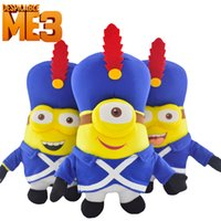 band dolls - Despicable me3 Movie Minion Plush Toy styles Despicable me men creative band serving small Huangren Gong Tsai cm Doll Toys EMS Free