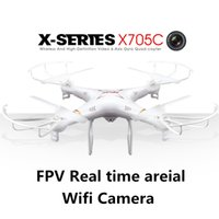 drone kit - Upgrated Version MJX X705C Drone Quadcopter With FPV Wifi HD Camera Kit RC dron Helicopter Channel GHz VS Syma x5sw x8w