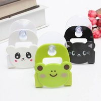 Wholesale Mini Cartoon Fashion Dish Cloth Sponge Holder With Suction Cup Home Convenient Storage Holder Racks