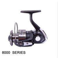 Cheap Hot Sale 8000 Series New Arrival HAIBO For Fishing 3+1 Ball Bearings 8000 Series Spinning Reel Material Metal Fish Wheel