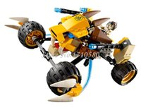 attack lions - Phantom Ninja Series Minifigure Spirit Lion Attack Car Bela Building Block Sets Children Toys No Original Box