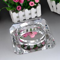 Wholesale Factory Direct Crystal jewelry fashion home decorations ornaments practical ashtray office