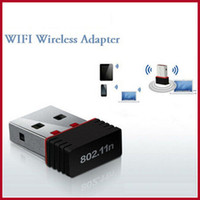 Wholesale 100 Original Mini Mbps USB WiFi Wireless LAN n g b Adapter Nano Network LAN M wi fi Adapter