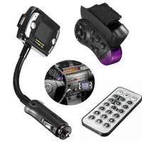 Wholesale Car Kit Wireless Bluetooth FM Transmitter MP3 Player USB SD LCD Remote Handsfree