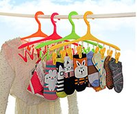 Wholesale New Multifunctional clothes rack Small clothes socks coat hanger home super help friend
