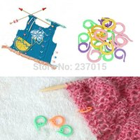 Wholesale 40 Colorful Knitting Crochet Locking Stitch Marker Needle Clip Craft