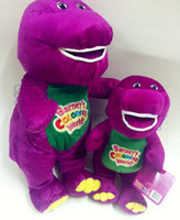 barney plush - Barney Plush Doll Stuffed Toy Can sing benny Purple dinosaur Plush toy doll