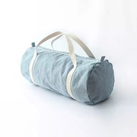 american apparel bags - AA vintage American Apparel blue city bag canvas travel casual denim duffle bag yy592